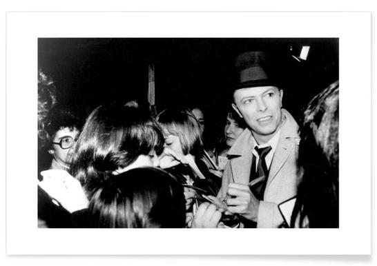 David Bowie Vintage Photograph Poster