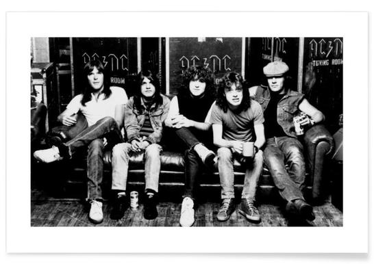 AC/DC Vintage Photograph Poster