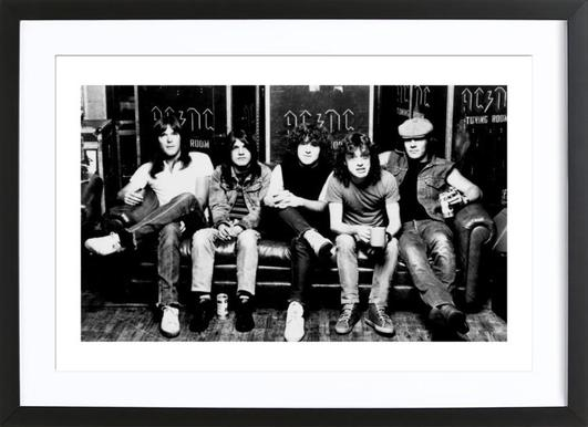 AC/DC Framed Print