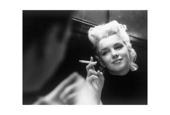 Marilyn Monroe in New York, 1955
