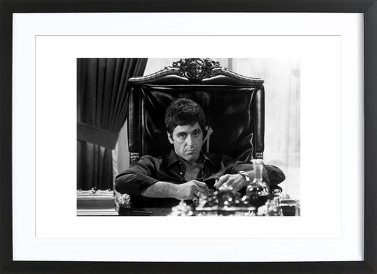 Al Pacino in Scarface Framed Print