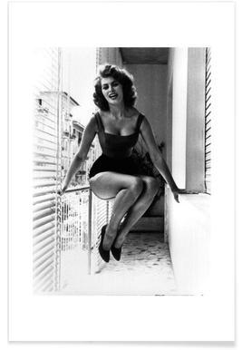 Sophia Loren - Premium Poster
