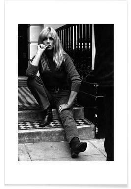 Brigitte Bardot, 1966 - Photographie affiche