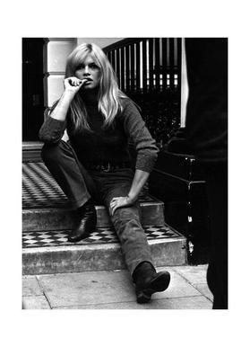 Brigitte Bardot, 1966 Canvas Print