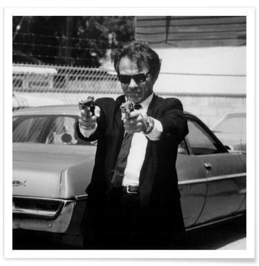 Harvey Keitel in Reservoir Dogs - Premium poster