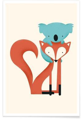 Fox and Koala poster