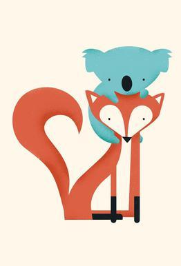 Fox and Koala
