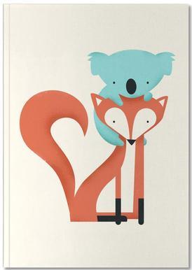 Fox and Koala Notebook