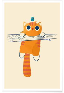 Fat Cat Little Bird poster