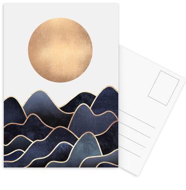 Waves Postcard Set