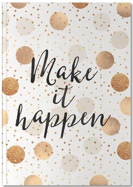Make it Happen carnet de notes