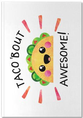 Taco Bout Awesome Notebook