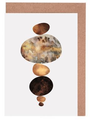 Balance -Grußkarten-Set