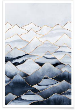 Mountains 1 -Poster