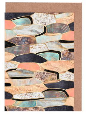 Pretty Stone 1 -Grußkarten-Set