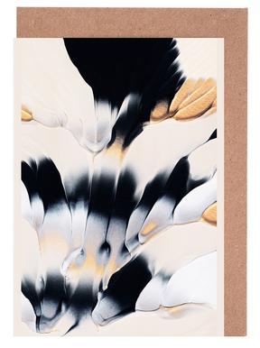 Abstract Flow 1 -Grußkarten-Set