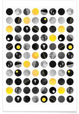 Yellow and Black Poster
