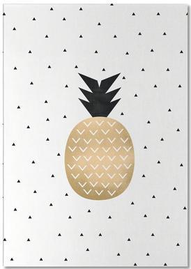 Golden Pineapple bloc-notes