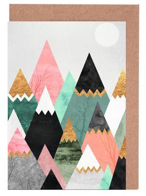 Pretty Mountains -Grußkarten-Set