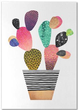 Happy Cactus -Notizblock