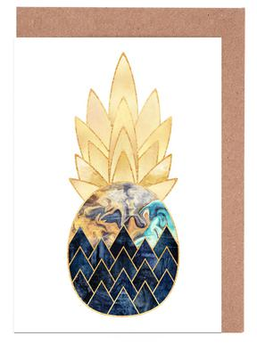 Precious Pineapple 1 -Grußkarten-Set