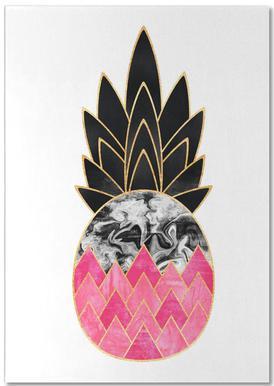 Precious Pineapple 2 Notepad