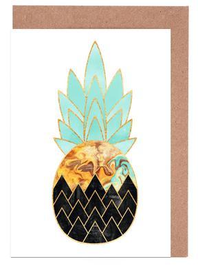 Precious Pineapple 3 -Grußkarten-Set