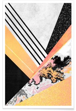 Geometric Summer -Poster