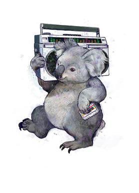 Koala toile