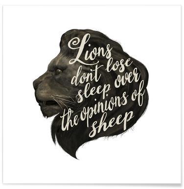 Lions affiche