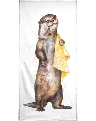 Otter Beach Towel