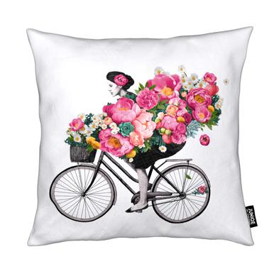 Floral coussin