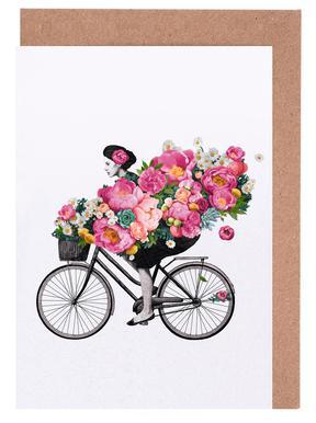 Floral cartes de vœux