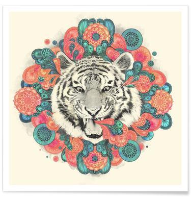 Bengal Mandala -Poster