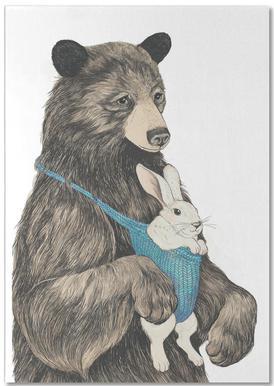 Bear Au Pair Notepad