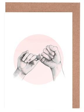 Pinky Swear Greeting Card Set