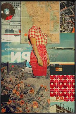 NP 1969 Framed Poster