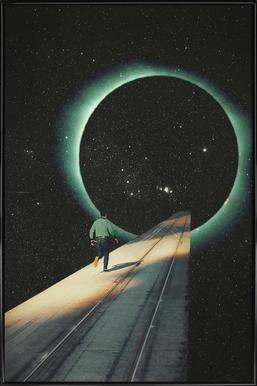 Escaping into the Void ingelijste poster