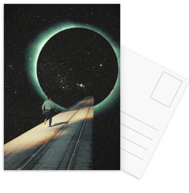 Escaping into the Void Postcard Set