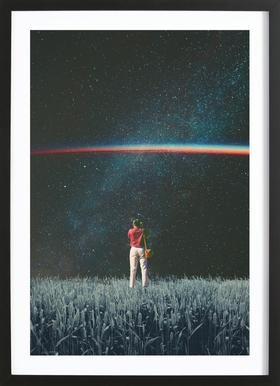 Saw the Light Framed Print