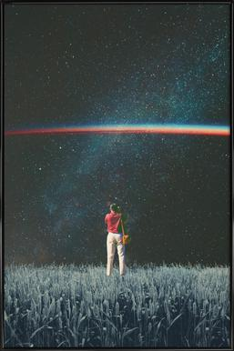 Saw the Light Framed Poster