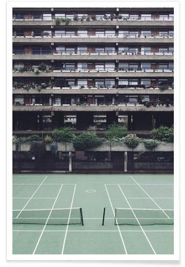 Backyards - Premium Poster