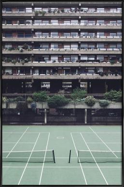 Backyards - Affiche sous cadre standard