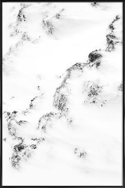 Waves - Affiche sous cadre standard