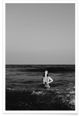 La Donna Del Mare - Premium Poster