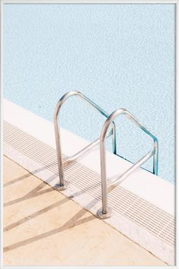 Poolside - Poster in Standard Frame