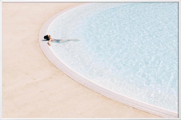 Sunbath - Poster in kunststof lijst