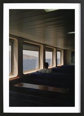 Ferry ingelijste print
