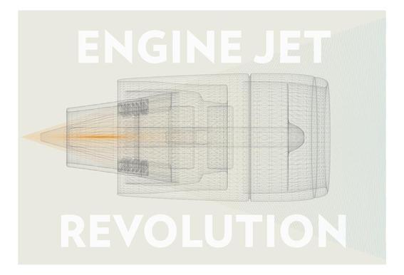 Engine jet revolution