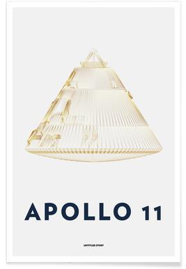 Apollo 11  Landing Module 6 - Premium Poster